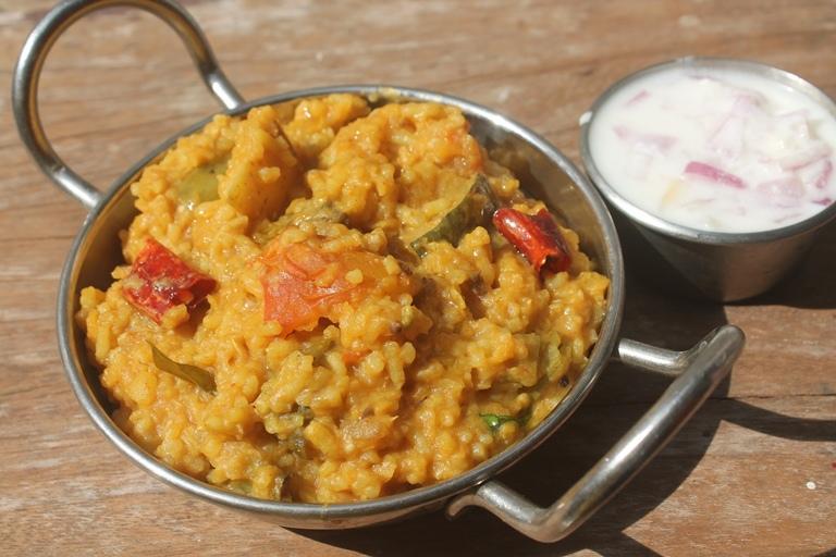 Sambar Rice / Sambar Sadam – One Pot Meal
