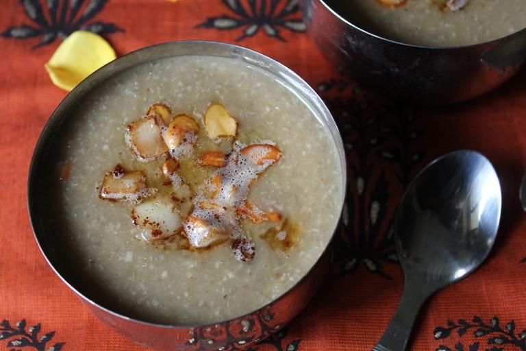 Thengai Payasam Recipe / Arisi Thengai Payasam / Rice Coconut Payasam (Kheer) / Coconut Payasam / Coconut Kheer
