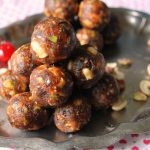 Sugar Free Dates & Nuts Ladoo / Dry Fruits & Nuts Ladoo / Dry Fruits And Khajoor Laddoo / Dates & Nuts Ladoo