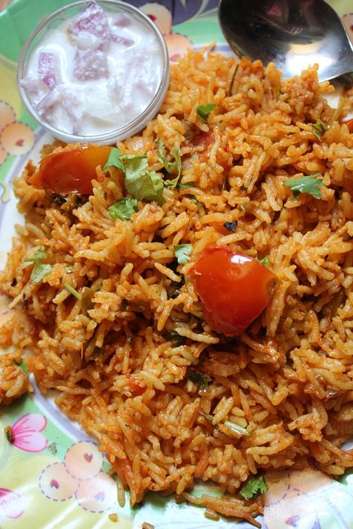 Tomato biryani recipe thakkali biryani recipe biryani in rice cooker forumfinder Gallery