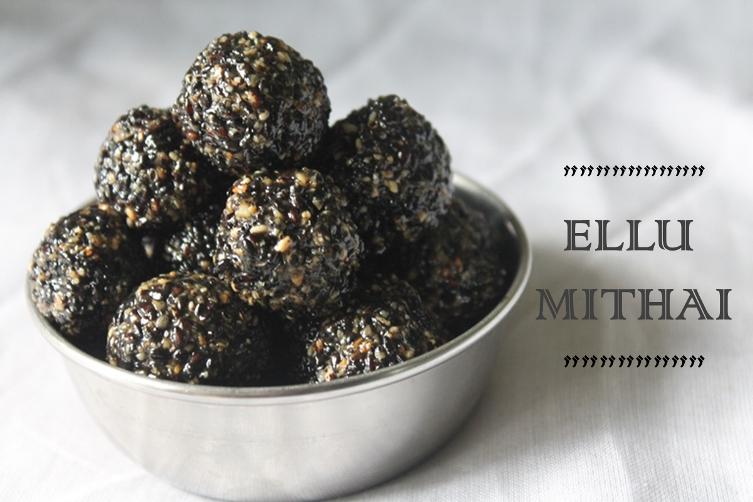 Ellu Urundai Recipe / Ellu Mithai Recipe /  Sesame Ladoo Recipe / Grandma's Sesame & Jaggery Balls Recipe / Sesame Balls Recipe