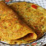 Egg Vegetable Omelet Recipe / Egg Vegetable Omelette Recipe / Veg Egg Omelet Recipe