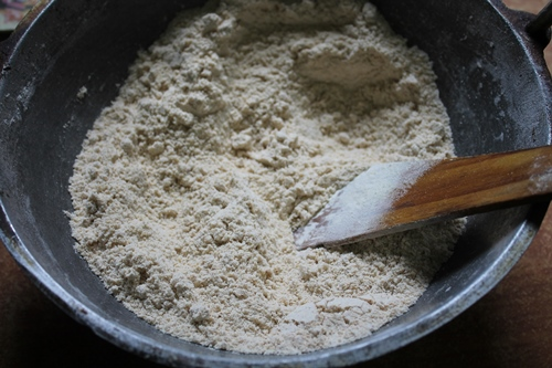 how to make almond powder for babies