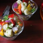 Cold Pasta Salad Recipe / Pasta Salad with Homemade Vinaigrette Recipe