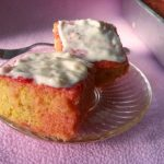 Jello Cake Recipe / Eggless Jello Cake Recipe  / Gelatin Poke Cake Recipe / Poke Cake Recipe / Jello Poke Cake Recipe
