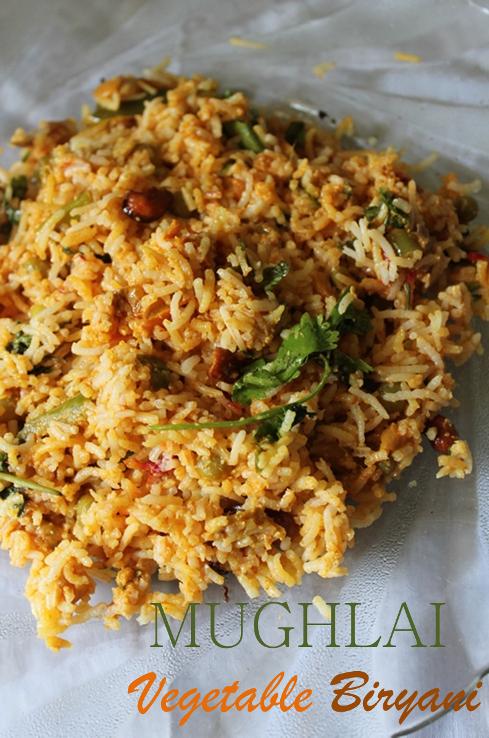 Mughlai vegetable biryani recipe mughlai veg biryani recipe so i love making it a lot not overy biryani is quick to make this briyani is kind of different it is called as dum biryani i make this occasionally forumfinder Choice Image