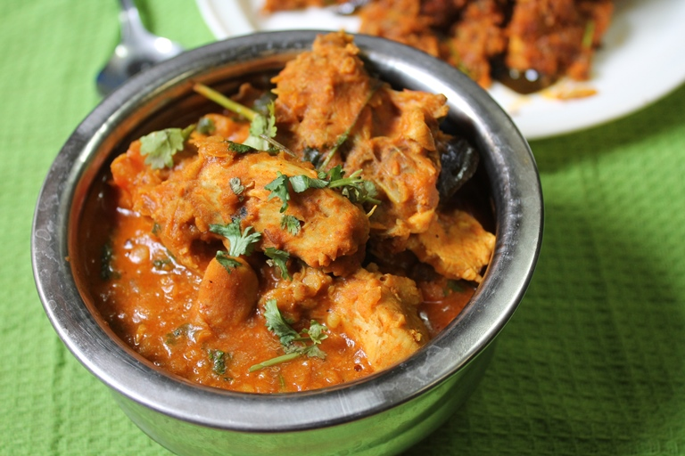 Chicken Lentil Curry Recipe / Chicken Dal Curry Recipe