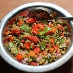 Moong Sprouts Salad with Vegetables