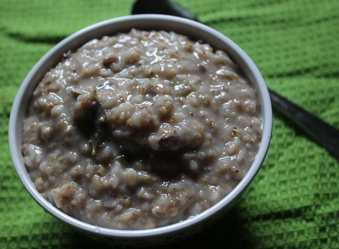 Millets Porridge Recipe / Siruthaniya Kanji Recipe