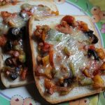 Open Faced Sandwich Recipe / Open Faced Cheese Sandwich Recipe