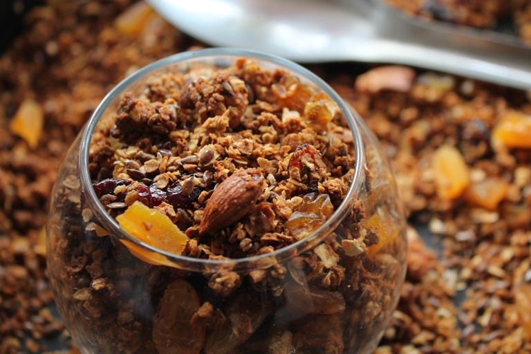 Granola Recipe / Homemade Muesli Recipe / Homemade Granola Recipe