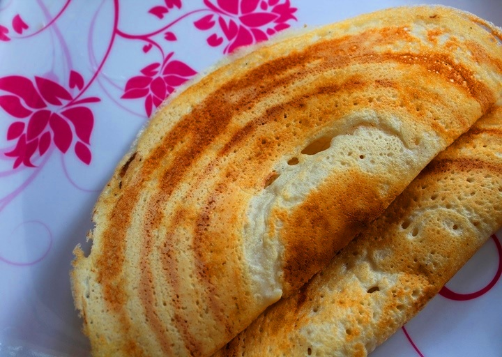 Crispy Dosa Recipe / How to Make Crispy Dosa / No Fermentation Dosa / How to Make Dosa Batter in Mixie