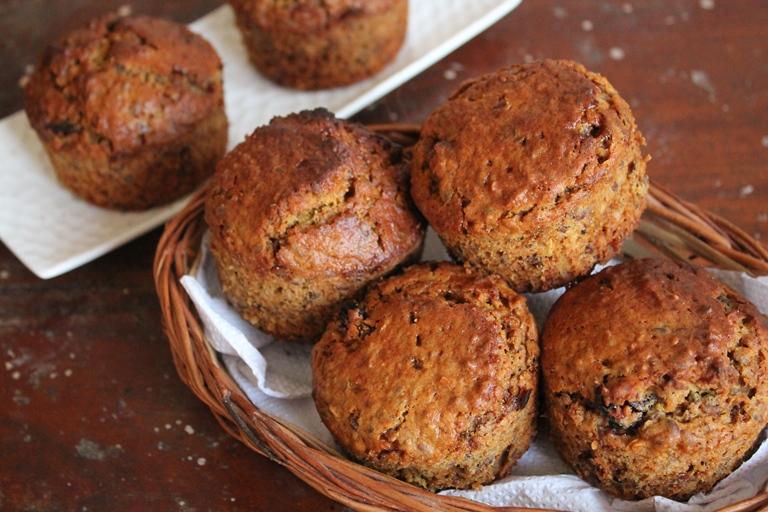 Granola Muffins Recipe / Granola Breakfast Muffins Recipe / Muesli Muffins Recipe