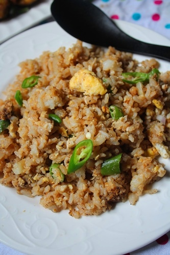 Street food egg fried rice recipe egg fried rice recipe yummy tummy serve forumfinder Images