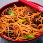 Chicken Noodles Recipe – Street Food Style