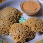 Wheat Idiyappam Recipe / Gothumai Idiyappam Recipe / Wheat Flour String Hoppers Recipe