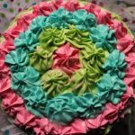 Rainbow Layer Cake Recipe / 6 Layer – Rainbow Birthday Cake – Maha's 1st Birthday Cake