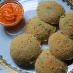 Instant Oats Idli Recipe / Oats Rava Idli Recipe