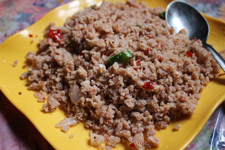 Coconut Poha Upma Recipe / Poha Upma Recipe / Aval Upma Recipe