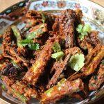 Kurkuri Bhindi Recipe / Vendakkai Fry Recipe / Crispy Lady Finger Fry Recipe
