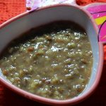 Green Gram Puree for Babies / Dal Puree for Babies