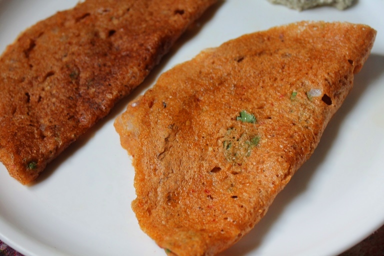 Sorghum Adai Dosa Recipe / Jowar Adai Recipe / Cholam Adai Recipe – Millets Recipes