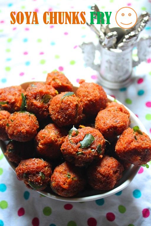 Soya chunks fry recipe meal maker fry recipe yummy tummy forumfinder Choice Image