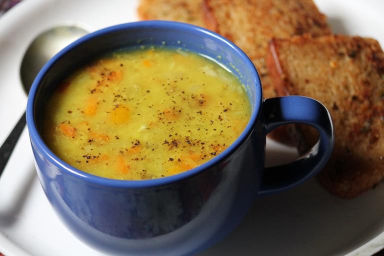 Dal Vegetable Soup Recipe / Lentil Soup Recipe / Moong Dal Soup Recipe
