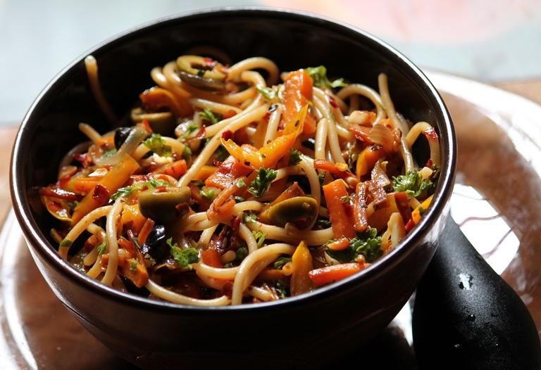 Stir Fry Spaghetti Recipe / Pasta Stir Fry Recipe – Quick Pasta Recipes