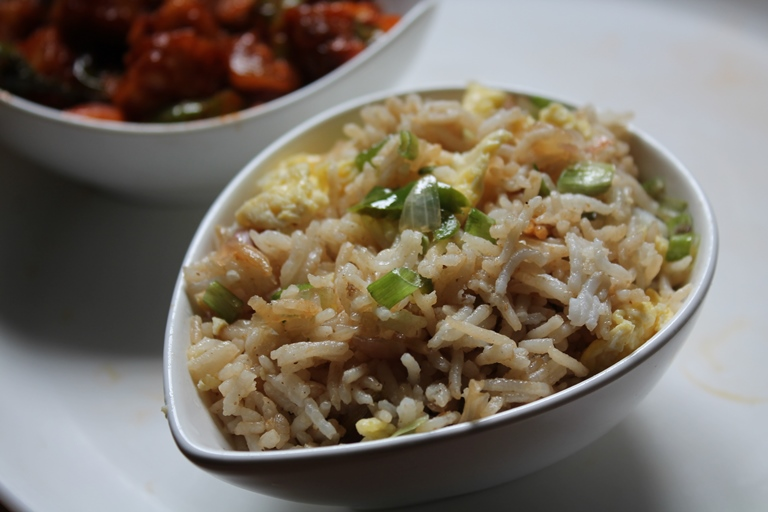 Restaurant style egg fried rice recipe yummy tummy ccuart Image collections