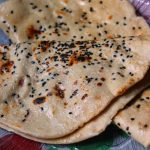Kalonji Wheat Naan Recipe / Wheat Naan Recipe without Yeast