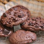 Chocolate Fudge Cookies Recipe / Triple Chocolate Cookies Recipe