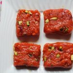 Carrot Burfi Recipe / Gajar Ki Burfi Recipe