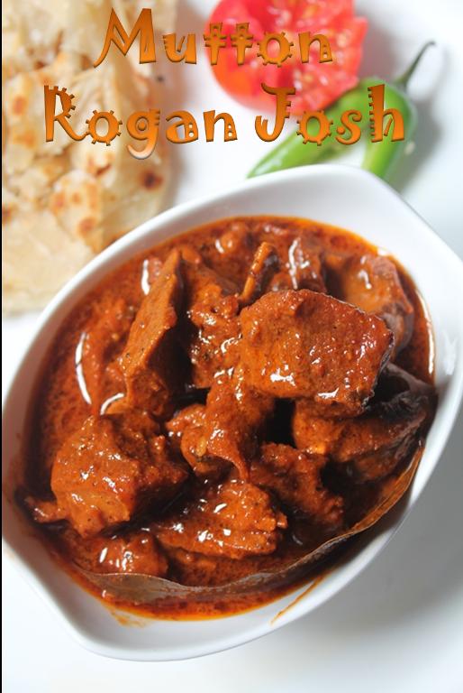 Rogan Josh Recipe / Mutton Rogan Josh Recipe / Kashmiri ...