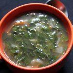 Drumstick Leaves Soup Recipe / Murungai Keerai Soup Recipe