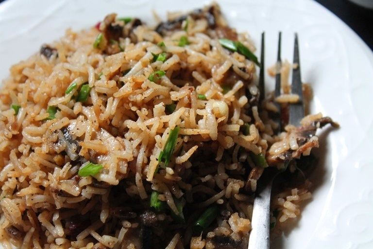 Mushroom fried rice recipe yummy tummy fried rice are my favourite because it is so easy to whip up plus it taste so yummy if you have leftover cooked rice then this is so much easier ccuart Gallery