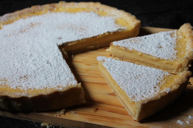Egg Custard Tart Recipe / Baked Custard Tart Recipe