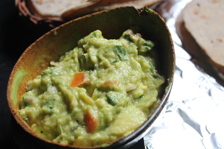 Guacamole Recipe / Avocado Dip Recipe / Mexican Guacamole Recipe