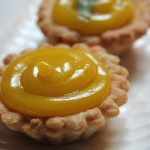 Lemon Curd Tart Recipe / Lemon Curd Tartlets Recipe