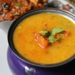 Carrot & Capsicum Dal Recipe