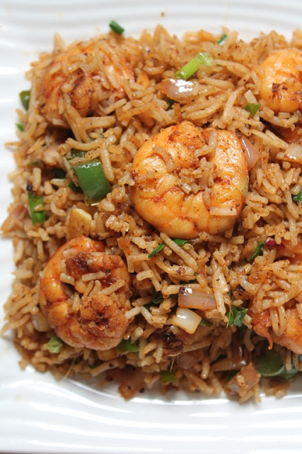 Prawn fried rice recipe shrimp fried rice recipe yummy tummy when i was writing down what all prawn recipes i should make the first thing that came to my mind is fried rice i am a fan of fried rice and i ccuart Images