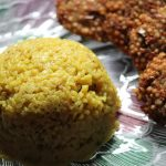 Yellow Pongal Recipe – Manja Pongal Recipe – Manjal Pongal Recipe