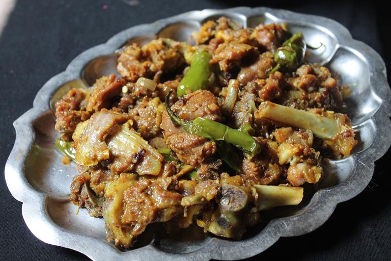 Mutton Soy Sauce Roast Recipe / Soy Sauce Mutton Recipe