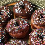 Eggless Chocolate Doughnuts Recipe  / Eggless Donuts with Chocolate Glaze Recipe
