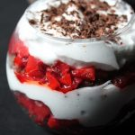 Strawberry Parfait Recipe / Strawberry Cream Parfait Recipe