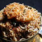 Prawn Biryani Recipe / Prawn Dum Biryani Recipe / Shrimp Biryani Recipe