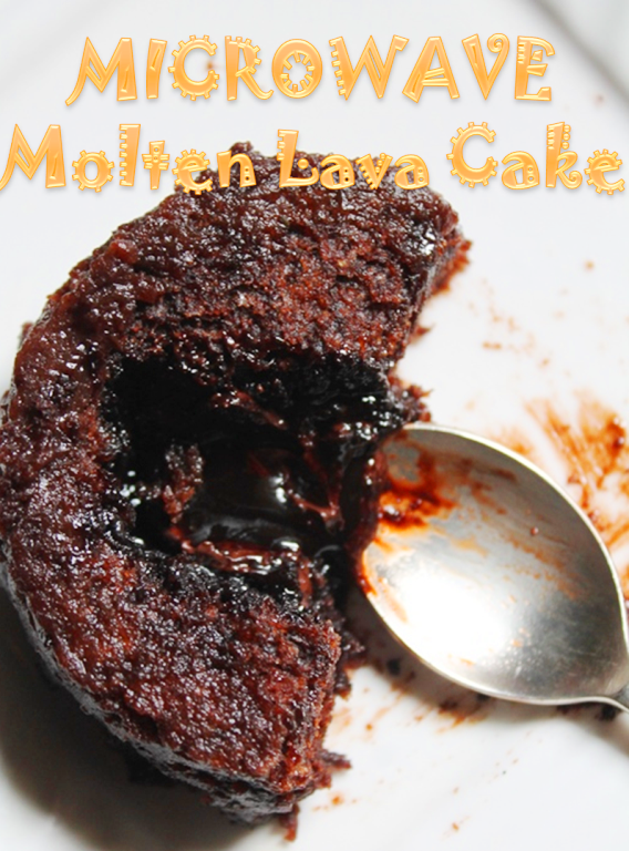 How To Make A Lava Cake Using Brownie Mix