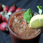 Strawberry Mint Juice Recipe