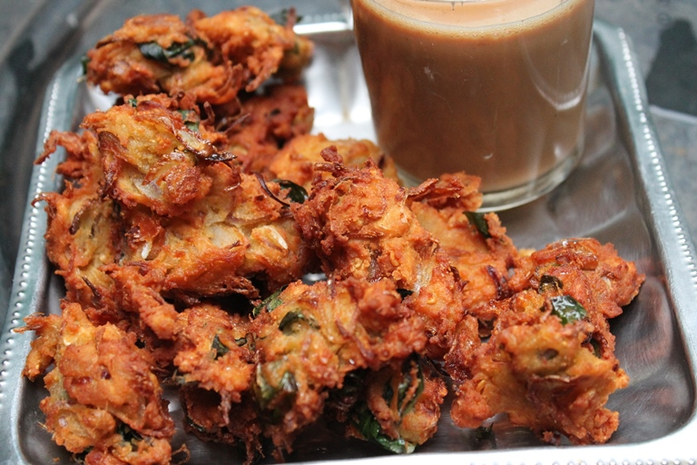 Image result for Pakora and Bhajiya