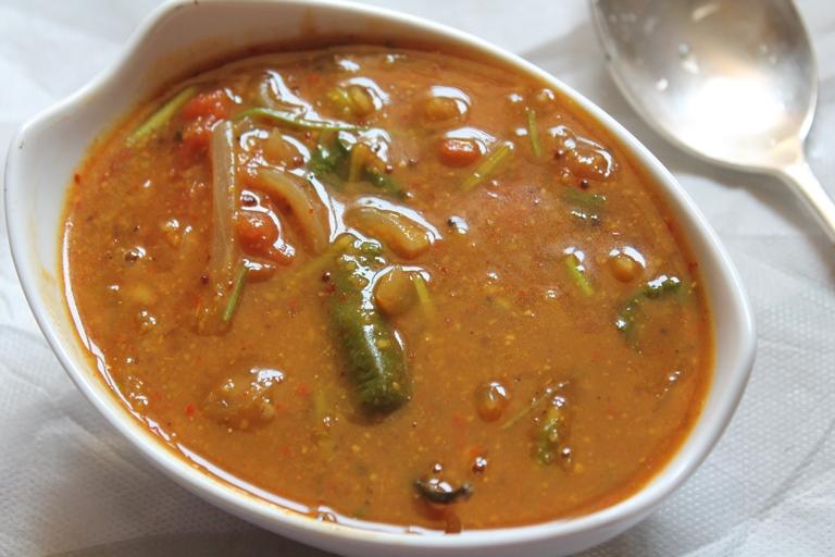 Bachelor Sambar Recipe / Instant Sambar without Dal